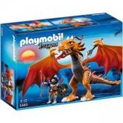 Комплект Плеймобил 5483 - Дракон с копие - Playmobil, 290969