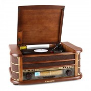 Majestic TT34 Cadena estéreo retro vinilo TP CD USB MP3 (TT-34-CD/PT/USB)