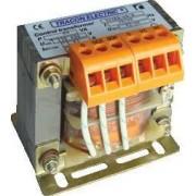 Biztonsági, egyfázisú kistranszformátor - 230-400V / 6-12-24V, max.100VA TVTRB-100-A - Tracon