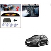 Auto Addict Car Silver Reverse Parking Sensor With LED Display For Volkswagen Polo