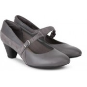Clarks Denny Bradford Grey Combi Corporate Casual For Women(Grey)