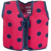 Konfidence - Vesta inot copii cu sistem de flotabilitate ajustabil The Original ladybird polka 4-5 ani
