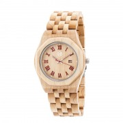 Earth Wood Baobab Bracelet Watch w/Date - Khaki/Tan ETHEW5501