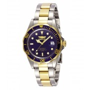 Invicta Watches Invicta Men's 8935 Pro Diver Collection Two-Tone Stainless Steel Watch with Link Bracelet BlueMulticolour