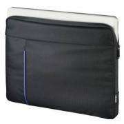 Калъф за лаптоп HAMA Cape Town, до 15.6 инча (40 cm), черен/син, HAMA-101906