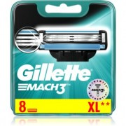 Gillette Mach3 recambios de cuchillas 8 ud