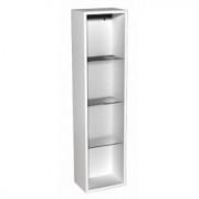 Dulap suspendat cu etajere Kolo Domino,30x25x120 cm -88342