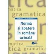 Norma si abatere in romana actuala - Marinela Doina Nistea