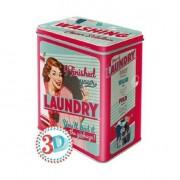 Bromma Kortförlag Plåtburk Laundry Wash
