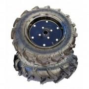 Roata cauciuc remorca motocultor (4.00x12), O-Mac 5580-02244, metal + cauciuc