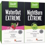 Sensilab Tschüss Wassergewicht & Fett 10-Tage Paket 10-Tage Abnehmprogramm für schnelle Ergebnisse WaterOut Extreme & NightBurn Extreme Sensilab