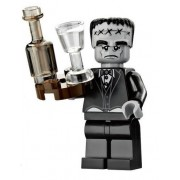 LEGO Monster Fighters Haunted House Halloween Minifigure - Frankenstein Butler with Tray (10228)