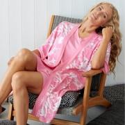 Damella Hemmarock, rosa-vit (Stl: M, L, XL, XXL, )