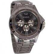 New Brand Rosra Round Dial Silver Metal Strap Mens Quartz Watch by miss