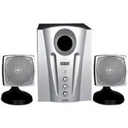 Intex IT-2000 SBJ 2.1 Multimedia Speakers - Silver Black
