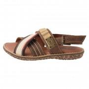 Sandale copii, din piele naturala, marca Melania, ME4084-2, maro