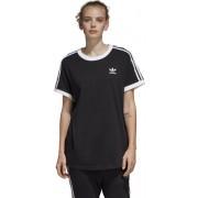 adidas Originals 3 Stripes - T-shirt - donna - Black