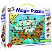 Magic Puzzle - Corabia piratilor 50 piese