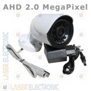 Telecamera Digitale AHD 2.0MP Full HD 1080P Lente 3.6mm Visione Notturna 20MT