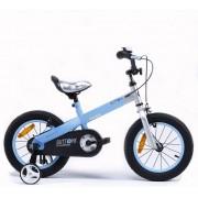 "Dječji bicikl Button 12"" - mat plavi"