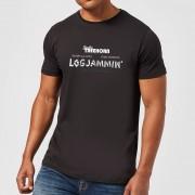 The Big Lebowski Camiseta El gran Lebowski Logjammin - Hombre - Negro - L - Negro
