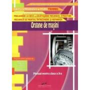 Organe de masini. Manual pentru clasa a X-a