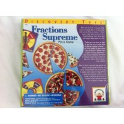 Fractions Supreme Pizza Game