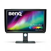 BenQ sw320 80,01 cm (31,5 inch) 4 K LED monitor (UHD 3840 x 2160 Pixels, 100% rec. 709, 99% Adobe RGB, 14bit 3d lut, IPS-technologie) Zwart