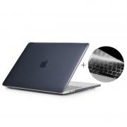 Apple MacBook Pro 13.3 inch met Touchbar (A1706 - EU versie) 2 in 1 Kristal patroon beschermende Hardshell ENKAY Hat-Prince behuizing met ultra-dun TPU toetsenbord Cover (zwart)