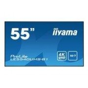 "iiyama ProLite LE5540UHS-B1 55"" Classe (54.6"" visualisable) écran LED - 4K"