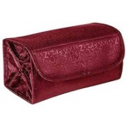 Right Traders Multifunctional 4 in 1 Polyester Travel Buddy Cosmetic Shaving Toiletry Jewellery Storage Organizer Bag (Red) Travel Toiletry Kit(Red)