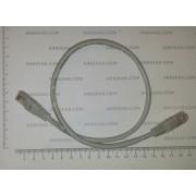 Пач кабел UTP cat.5e, 0.5 метра с RJ45 букси