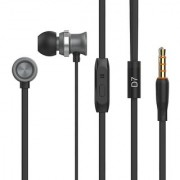 Celebrat D7 Sound Insulations Metal In-ear Earphones Grey