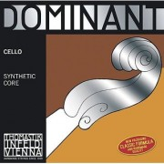Thomastik-Infeld 145.18 Dominant Cello String Single C String Chromesteel Wound Medium Tension 1/8 Size
