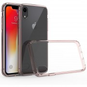 Funda Case Iphone XR De Acrilico Transparente - Rosa