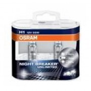 Bec Osram Nihgt Breaker Unlimited H1 12v/55w +110% Duo Box