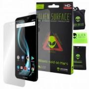 Folie Alien Surface HD Allview X4 Soul Infinity Z protectie ecran spate laterale + Alien Fiber Cadou