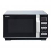 Sharp R760S Micro-ondas 23L 1000W Preto/Prateado