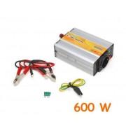 Inverter Uscita Sinusoidale Modificata 600w 12v–220vac Con Usb
