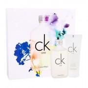 Calvin Klein CK One confezione regalo Eau de Toilette 100 ml + doccia gel 100 ml unisex