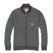 Oxbow Sweat zippé Oxbow Saspe noir