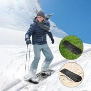 Axiski Multi-Terrain Ski-Board, Ganzjahresboard, 117 x 35 x 0,5 cm, schwarz