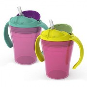 Summer Infant Sippy Stackers Training Straw Cup Girl 6 Ounce