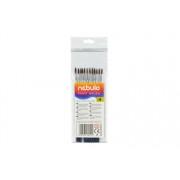 Ecset, no. 4, kerek, festett nyelű, NEBULÓ (RNEBE4)
