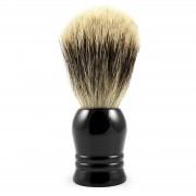Collin Rowe Rasierpinsel mit schwarzem Horngriff