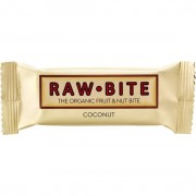 Rawbite Raw Frukt- & Nötbar Kokos 50 g