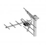 Antena Yagi directionala, pentru receptia canalelor TV UHF (21-60), 11 elementi