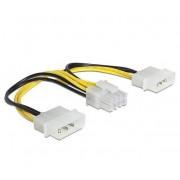 Adapter, MAKKI, 2xMolex to 8pin PCI-E VGA (CE317-0.15m)