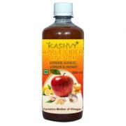Kashvy Apple Cider Vinegar with Ginger / Garlic / Lemon / Honey( 500 ml)