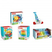 Corn Popper Xilófono Bloques Aros Llaves Fisher Price Clasic